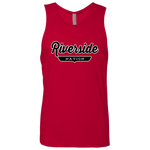 Red / S Riverside Nation Tank Top - The Nation Clothing
