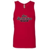 Red / S San Bernardino Nation Tank Top - The Nation Clothing