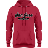 Red / S San Jose Hoodie - The Nation Clothing