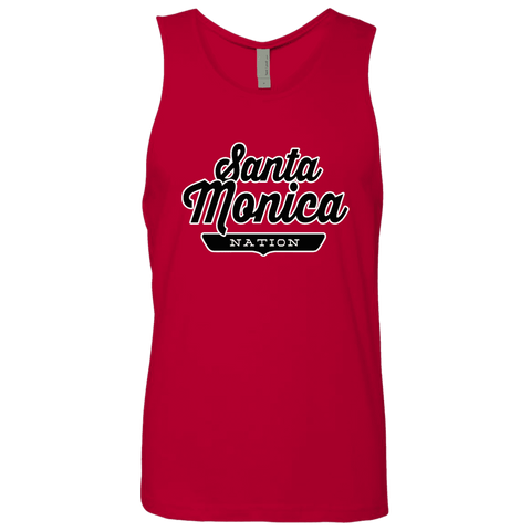 Red / S Santa Monica Nation Tank Top - The Nation Clothing