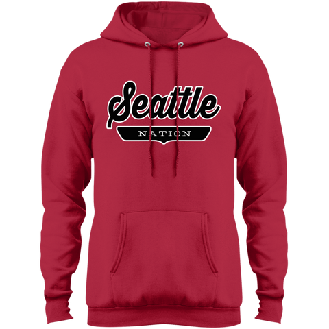 Red / S Seattle Hoodie - The Nation Clothing
