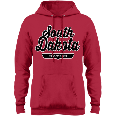 Red / S South Dakota Hoodie - The Nation Clothing