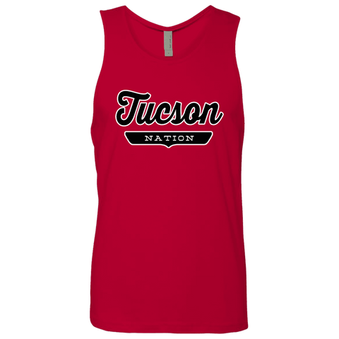 Red / S Tucson Nation Tank Top - The Nation Clothing