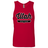 Red / S Utah Tank Top - The Nation Clothing