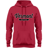 Red / S Vermont Hoodie - The Nation Clothing