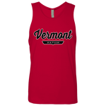 Red / S Vermont Nation Tank Top - The Nation Clothing