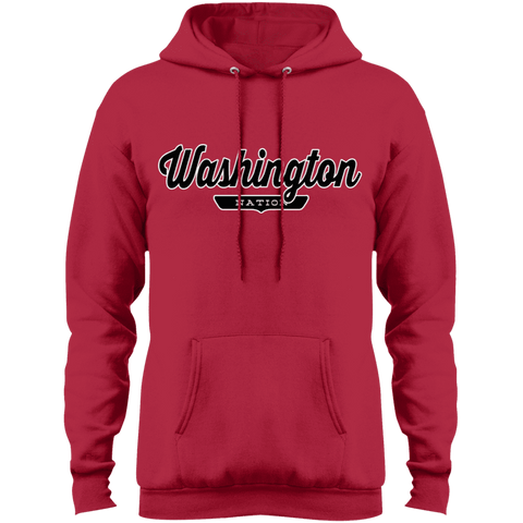 Red / S Washington D.C. Hoodie - The Nation Clothing