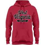 Red / S West Virginia Nation Hoodie - The Nation Clothing
