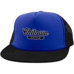Royal/Black / One Size Chitown Trucker Hat with Snapback - The Nation Clothing