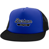 Royal/Black / One Size Durham Nation Trucker Hat with Snapback - The Nation Clothing