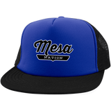 Royal/Black / One Size Mesa Nation Trucker Hat with Snapback - The Nation Clothing