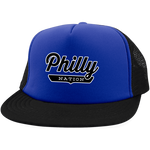 Royal/Black / One Size Philly Trucker Hat with Snapback - The Nation Clothing