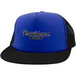 Royal/Black / One Size Providence Nation Trucker Hat with Snapback - The Nation Clothing