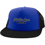 Royal/Black / One Size Santa Ana Nation Trucker Hat with Snapback - The Nation Clothing