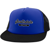 Royal/Black / One Size Scottsdale Nation Trucker Hat with Snapback - The Nation Clothing
