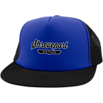 Royal/Black / One Size Shreveport Nation Trucker Hat with Snapback - The Nation Clothing