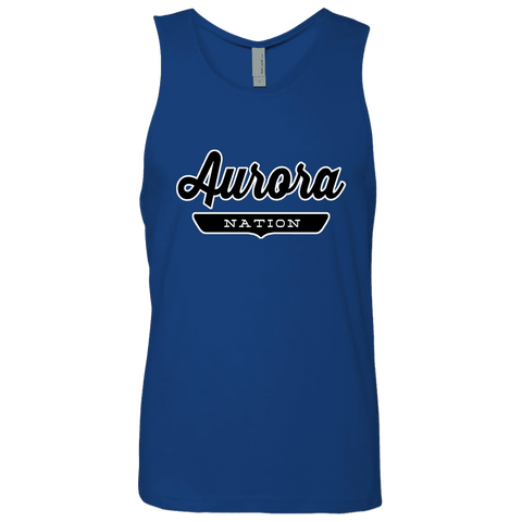 Royal / S Aurora Nation Tank Top - The Nation Clothing