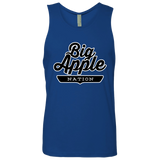 Royal / S Big Apple Tank Top - The Nation Clothing