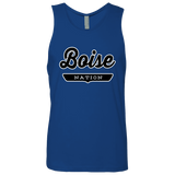 Royal / S Boise Nation Tank Top - The Nation Clothing