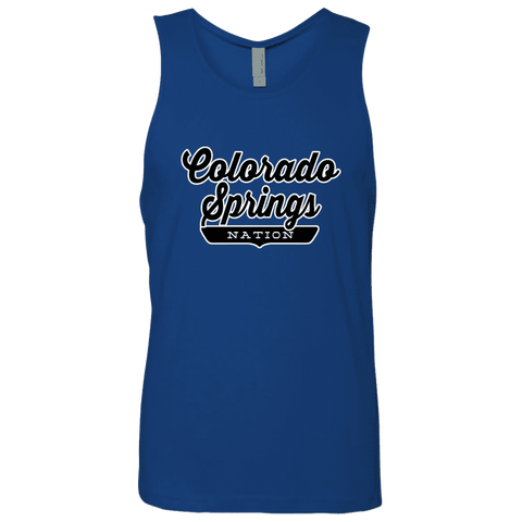Royal / S Colorado Springs Nation Tank Top - The Nation Clothing
