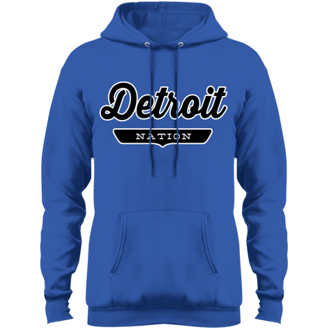 Royal / S Detroit Hoodie - The Nation Clothing