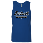 Royal / S Detroit Nation Tank Top - The Nation Clothing