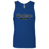 Royal / S Henderson Nation Tank Top - The Nation Clothing