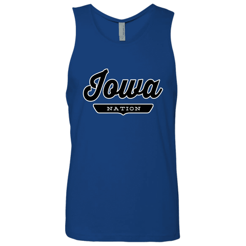 Royal / S Iowa Nation Tank Top - The Nation Clothing