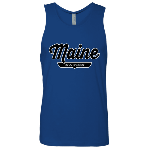 Royal / S Maine Nation Tank Top - The Nation Clothing