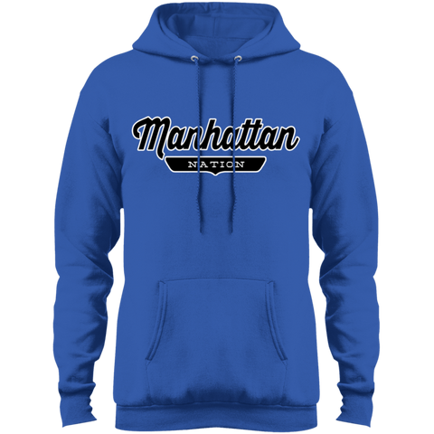 Royal / S Manhattan Hoodie - The Nation Clothing