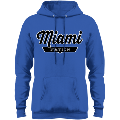 Royal / S Miami Hoodie - The Nation Clothing