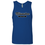 Royal / S Milwaukee Nation Tank Top - The Nation Clothing