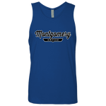 Royal / S Montgomery Nation Tank Top - The Nation Clothing