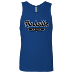 Royal / S Nashville Nation Tank Top - The Nation Clothing
