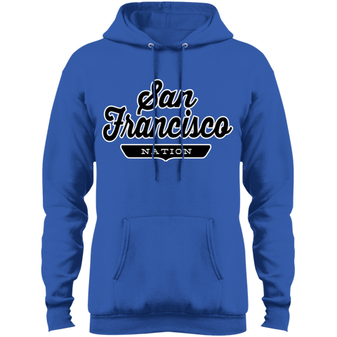 Royal / S San Francisco Hoodie - The Nation Clothing