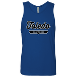 Royal / S Toledo Nation Tank Top - The Nation Clothing