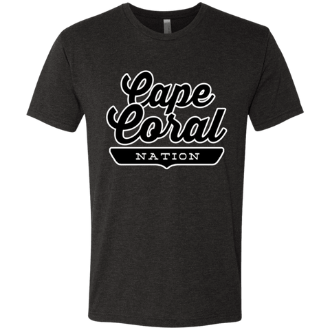 Vintage Black / S Cape Coral Nation T-shirt - The Nation Clothing