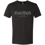 Vintage Black / S Fort Worth Nation T-shirt - The Nation Clothing