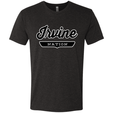 Vintage Black / S Irvine Nation T-shirt - The Nation Clothing