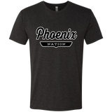 Vintage Black / S Phoenix Nation T-shirt - The Nation Clothing