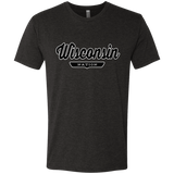 Vintage Black / S Wisconsin Nation T-shirt - The Nation Clothing