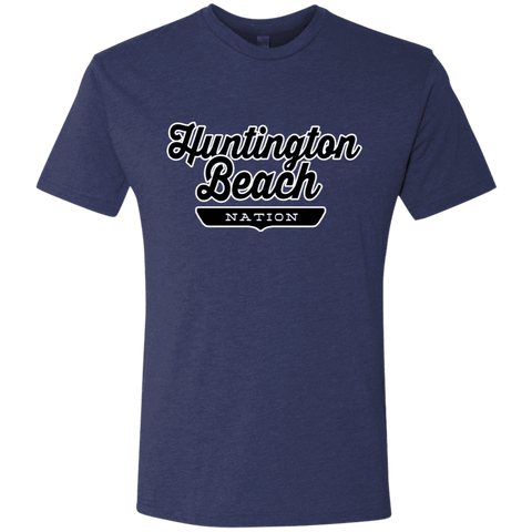 Vintage Navy / S Huntington Beach Nation T-shirt - The Nation Clothing