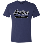Vintage Navy / S Irvine Nation T-shirt - The Nation Clothing