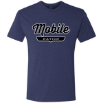 Vintage Navy / S Mobile Nation T-shirt - The Nation Clothing