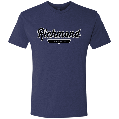 Vintage Navy / S Richmond Nation T-shirt - The Nation Clothing