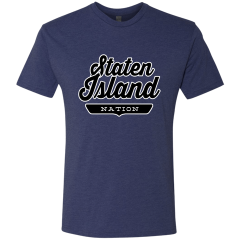 Vintage Navy / S Staten Island Nation T-shirt - The Nation Clothing