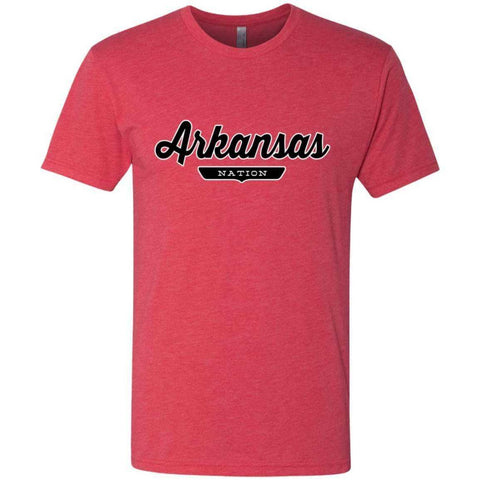 Vintage Red / S Arkansas Nation T-shirt - The Nation Clothing