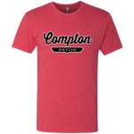 Vintage Red / S Compton Nation T-shirt - The Nation Clothing