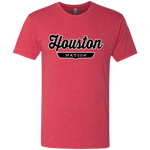 Vintage Red / S Houston Nation T-shirt - The Nation Clothing
