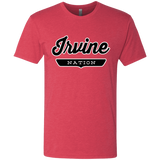 Vintage Red / S Irvine Nation T-shirt - The Nation Clothing